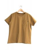 THE NORTH FACE(ザ ノース フェイス)の古着「ショートスリーブエアリーポケットTシャツ」|ブラウン