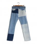 LEVIS MADE&CRAFTED(リーバイス メイドアンドクラフテッド)の古着「切替デニムパンツ」|インディゴ