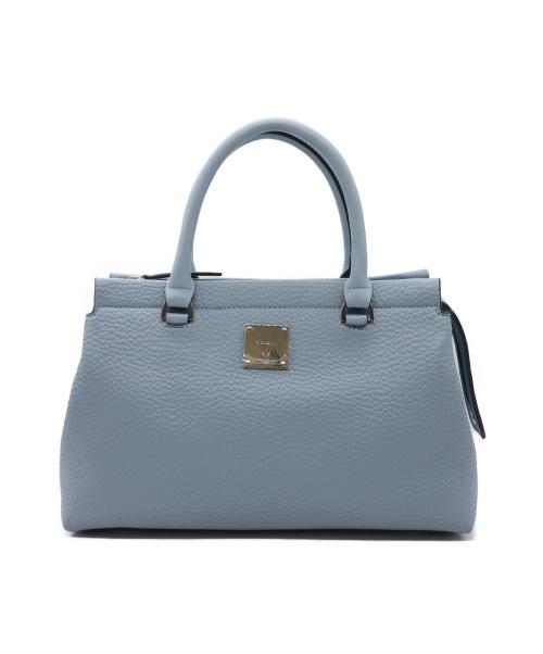 FIORELLI(フィオレッリ)FIORELLI (フィオレッリ) 2WAYバッグ ブルー ハンドバッグ ショルダーバッグ トートバッグの古着・服飾アイテム