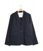 ()の古着「バックベルト4Bテーラードジャケット」|ブラック
