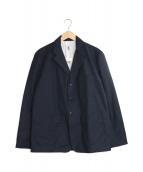 ()の古着「スナップテーラードジャケット」|ネイビー