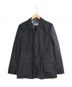 Fraizzoli(フライツォーリ)の古着「ミリタリーナイロンテーラードジャケット」|ブラック