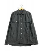 ()の古着「SHIRTS JACKET」 グレー