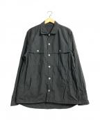 save khaki united(セーブカーキユナイテッド)の古着「SHIRTS JACKET」|グレー