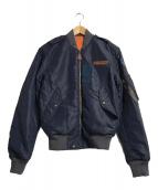 ()の古着「Reversible Bomber Jacket」 ネイビー