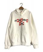 Supreme × ANTI HERO(シュプリーム × アンタイヒーロー)の古着「Hooded Sweatshirt」|ホワイト