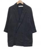 ASEEDONCLOUD(アシードンクラウド)の古着「藍染ダブルジャケット」 ネイビー