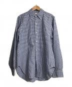 ANATOMICA(アナトミカ)の古着「ギンガムチェックシャツ」|ブルー×ホワイト