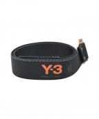 Y-3(ワイスリー)の古着「ナイロンベルト」|ブラック×オレンジ