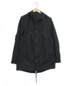 blackbarrett(ブラックバレット)の古着「ミリタリーモッズコート」 ブラック