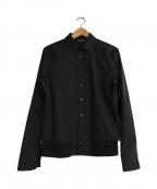 NEIL BARRETT(ニールバレット)の古着「BLOUSON SHIRT」 ブラック