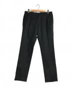 REPLAY(リプレイ)の古着「タックテーパードパンツ」|ブラック