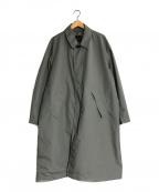 DAIWA PIER39(ダイワ ピアサーティンナイン)の古着「ステンカラーコート」 グレー
