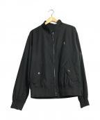 POLO RALPH LAUREN(ポロ・ラルフローレン)の古着「スイングトップ」|ブラック