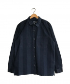 LEVIS MADE&CRAFTED(リーバイス メイドアンドクラフテッド)の古着「IN/OUT WORK SHIRT」|インディゴ