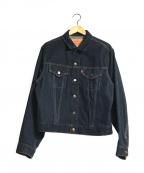 LEVIS()の古着「557 3rd濃紺デニムトラッカージャケット」|インディゴ