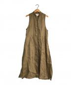 TODAYFUL(トゥデイフル)の古着「Herringbone Linen Vest」 ブラウン