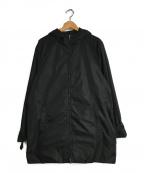 PRADA()の古着「ナイロンフーデッドジャケット」|ブラック