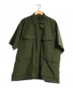DAIWA PIER39(ダイワ ピアサーティンナイン)の古着「シャツ」 オリーブ