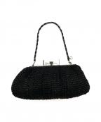 ANTEPRIMA(アンテプリマ)の古着「ワイヤークラッチチェーンショルダーバッグ」|ブラック