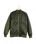 Acne studios()の古着「MA-1ジャケット」|オリーブ