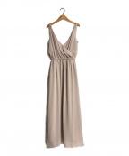 INTIMITE(アンティミテ)の古着「クレープリゾートドレスワンピース」|ピンク