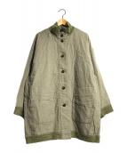 ()の古着「リバーシブルジャケット」 グリーン