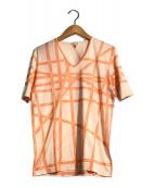 ()の古着「ボルデュックカットソー」|オレンジ