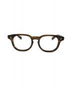 ()の古着「伊達眼鏡」|ブラウン