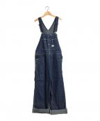 BLUE BLUE(ブルーブルー)の古着「デニムオーバーオール」|インディゴ