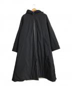 whowhat(フーワット)の古着「リバーシブルコート」|ブラック×グリーン