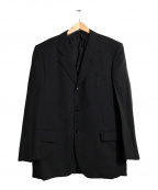 COMME des GARCONS HOMME DEUX(コムデギャルソン オム ドゥ)の古着「テーラードジャケット」|ブラック