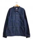 JAPAN BLUE JEANS(ジャパンブルージーンズ)の古着「デニムカバーオール」|インディゴ