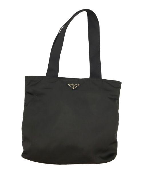 PRADA(プラダ)PRADA (プラダ) ナイロントートバッグ ブラック サイズ:不明の古着・服飾アイテム
