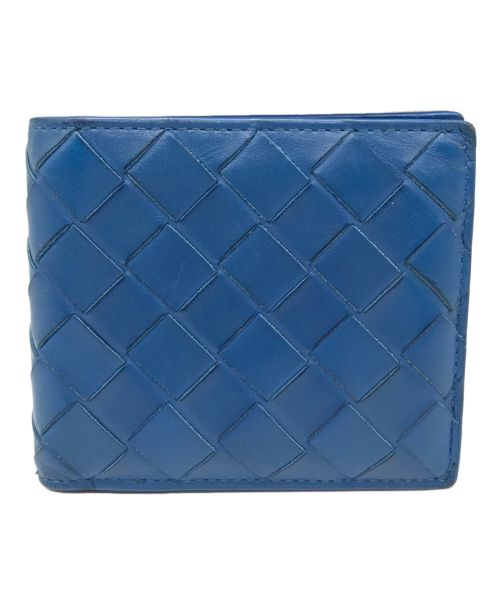 BOTTEGA VENETA(ボッテガベネタ)BOTTEGA VENETA (ボッテガベネタ) イントレチャートウォレット ブルー サイズ:不明の古着・服飾アイテム