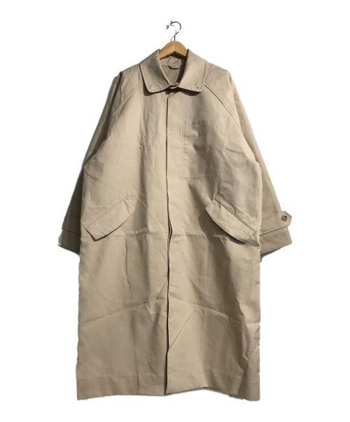 Hed Mayner(ヘド メイナー)Hed Mayner (ヘド メイナー) オーバーサイズステンカラーコート ベージュ サイズ:XSの古着・服飾アイテム