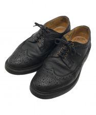 Tricker's (トリッカーズ) ウィングチップシューズ ブラック サイズ:8