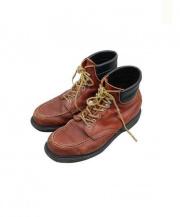 RED WING(レッドウィング)の古着「ヴィンテージモックトゥブーツ」|ブラウン