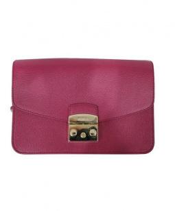 FURLA(フルラ)の古着「チェーンショルダーバッグ」|ピンク