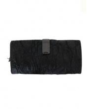 Felisi(フェリージ)の古着「ハラコ長財布」|ブラック