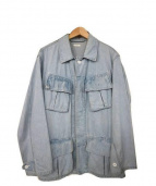 COMOLI(コモリ)の古着「BDUデニムジャケット」|インディゴ