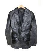 HORN WORKS(ホーンワークス)の古着「レザージャケット」|ブラック