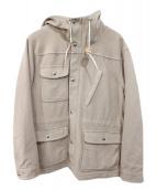 Battenwear(バテンウェア)の古着「フーデッドコート」|ベージュ