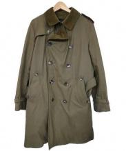 GRENFELL(グレンフェル)の古着「トレンチコート」|オリーブ