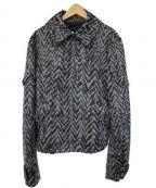 KRIS VAN ASSCHE(クリス ヴァン アッシュ)の古着「Pコート」 グレー