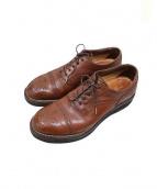 foot the coacher(フットザコーチャー)の古着「ウィングチップシューズ」|ブラウン