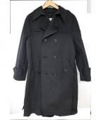 BALENCIAGA(バレンシアガ)の古着「トレンチコート」 ブラック