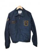 AERONAUTICA MILITARE(アエロナウティカミリターレ)の古着「ミリタリージャケット」|ネイビー