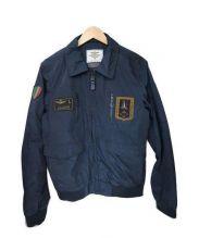 AERONAUTICA MILITARE(アエロナウティカミリターレ)の古着「ミリタリージャケット」 ネイビー