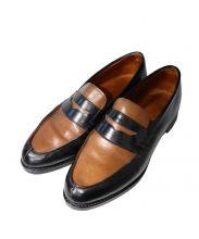 Lloyd Footwear(ロイド フットウェア)の古着「ローファー」|ブラウン×ブラック